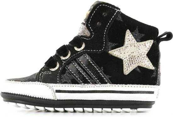 3da0fb7d530 Shoesme Meisjes Baby Sneakers - BLACK - Maat 21