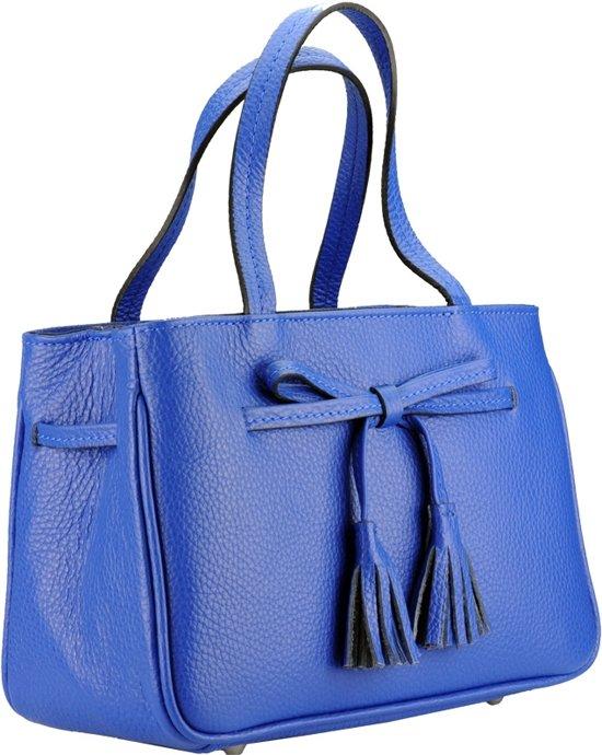 afa831bb0a5 bol.com | Handtas met vrolijke strik blauw