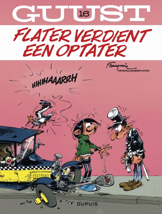 Guust Flater: 016 Flater verdient een optater
