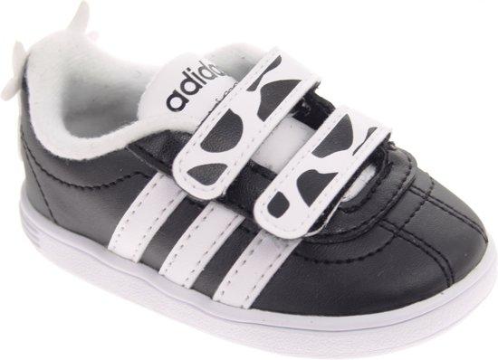 1a25f013a2b bol.com   Adidas Sneakers Court Animal Junior Zwart/wit Maat 25