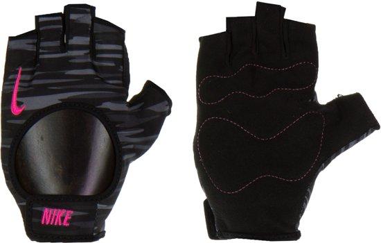 Nike Women's Fit Trainings Handschoenen Dames Sporthandschoenen - Dames - Grijs/Zwart/Roze