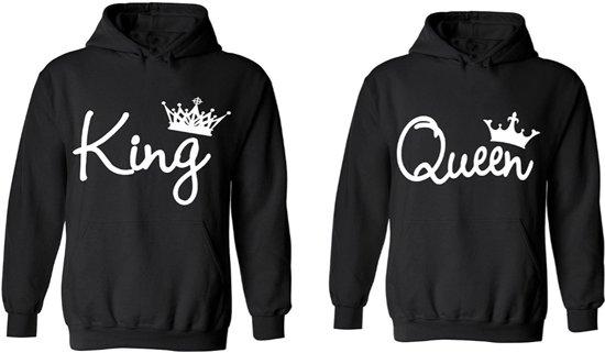 king queen hoodies hippe valentijn sweaters. Black Bedroom Furniture Sets. Home Design Ideas
