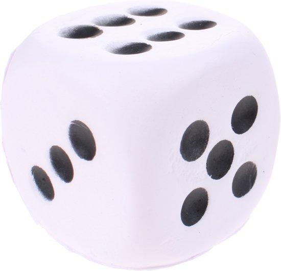 Afbeelding van het spel Toi-toys Foam Dobbelsteen 4 Cm Wit