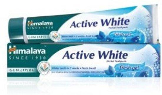 Tandpasta active white