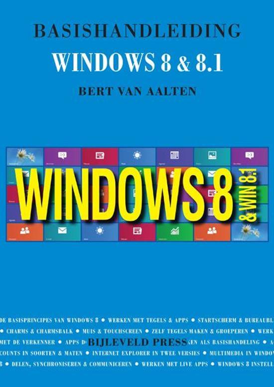 Basishandleiding Windows 8 en 8.1