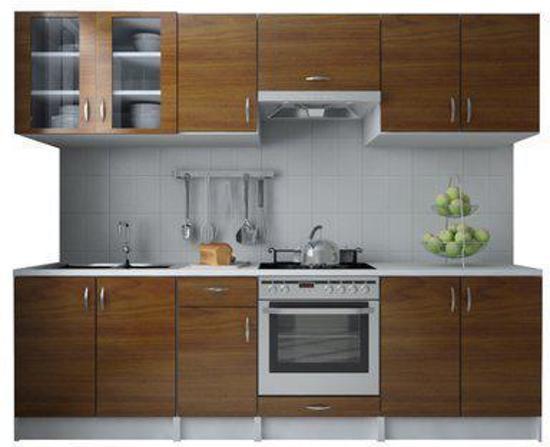 Keuken Wandkast 8 : Bol vidaxl keukenmeubel keuken legno bruin meter ook