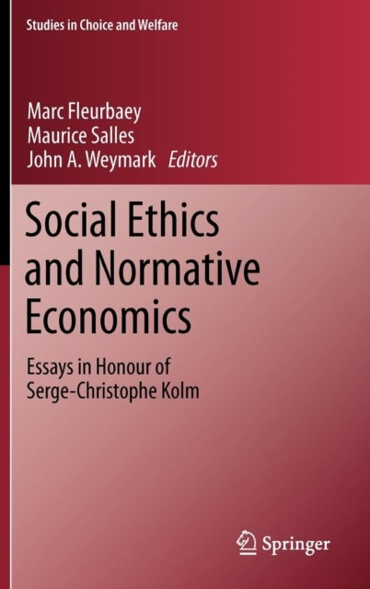 economics and ethics essay This edited volume is the first collection of essays exploring the intersection of social economics and the law, providing alternatives to neoclassical law-and-economics and applying them to real-world issues.