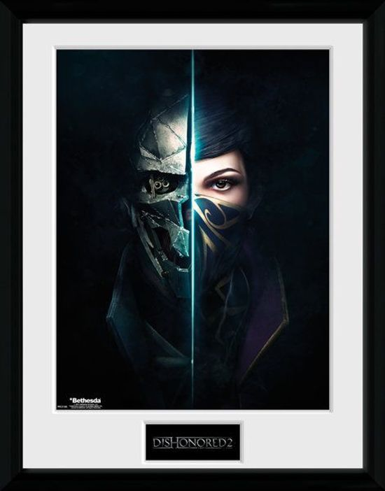 Bolcom Dishonored 2 Faces 30 X 40 Collector Print