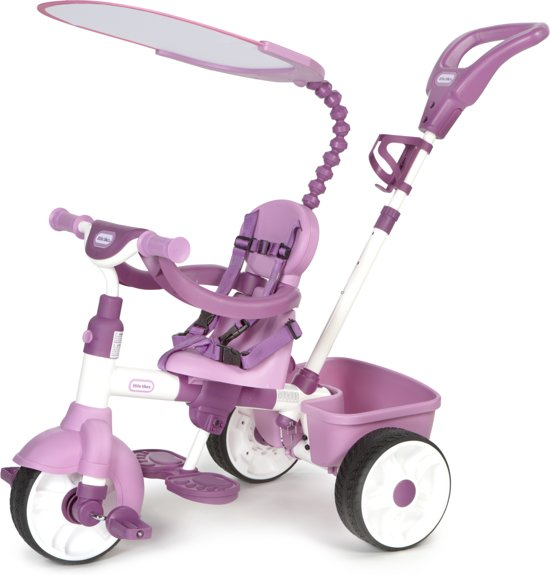 Verbazingwekkend bol.com | Little Tikes 4-in-1 Roze - Driewieler, Little Tikes SH-95