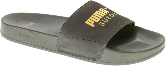 Puma 43 Suede Slippers Groen Maat Leadcat Men Heren SrS7F