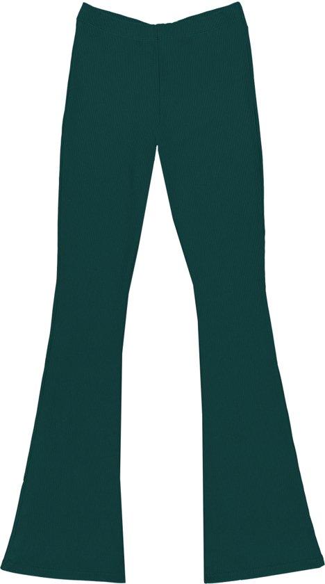 Cars Jeans Meisjes ZUMA FLAIR Flare Fit - Dark Green - Maat 128