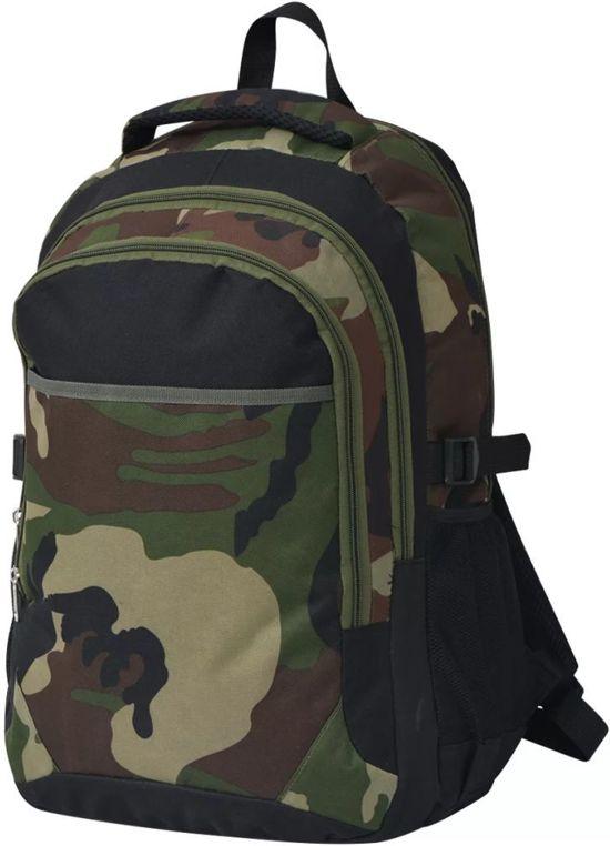 goedkope camouflage schooltas