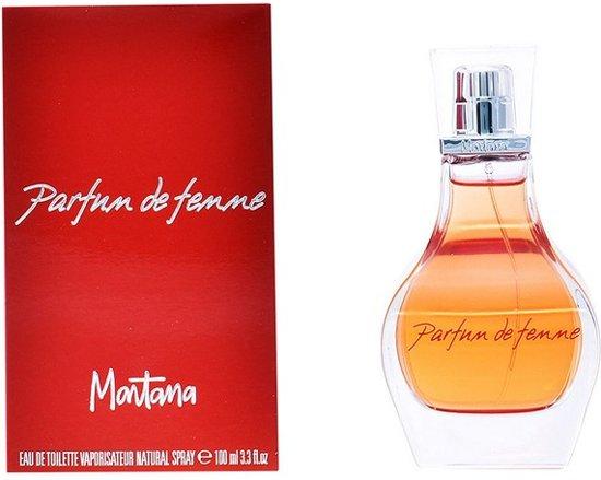 Montana Parfum de Femme 100 ml eau de toilette spray damesparfum