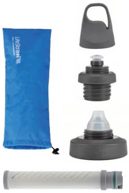 LifeStraw® waterfles met filter adapter Universal - 2 doppen