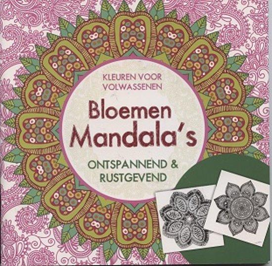 Mandala Kleurplaten Voor Volwassenen Bloemen.Bol Com Kleurboek Volwassenen Bloemen En Mandala S Ontspannend