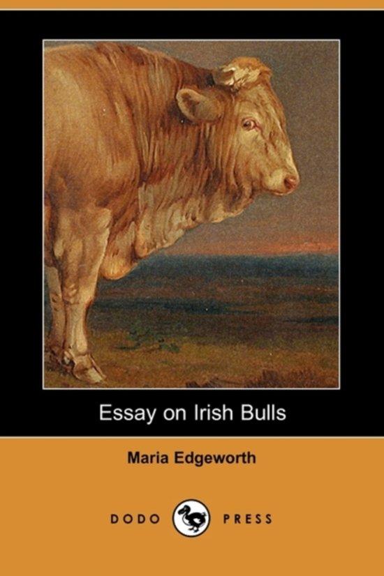 maria edgeworth essay on irish bulls