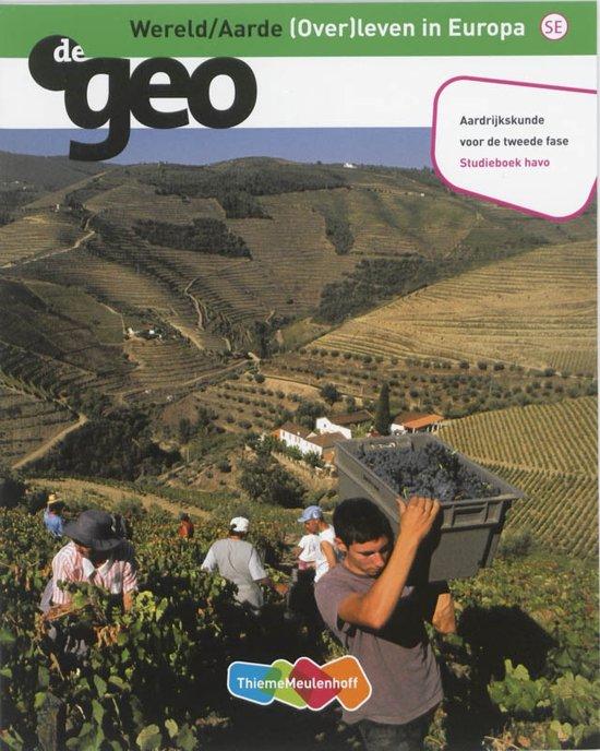 De Geo De Geo Havo Wereld Aarde Studieboek