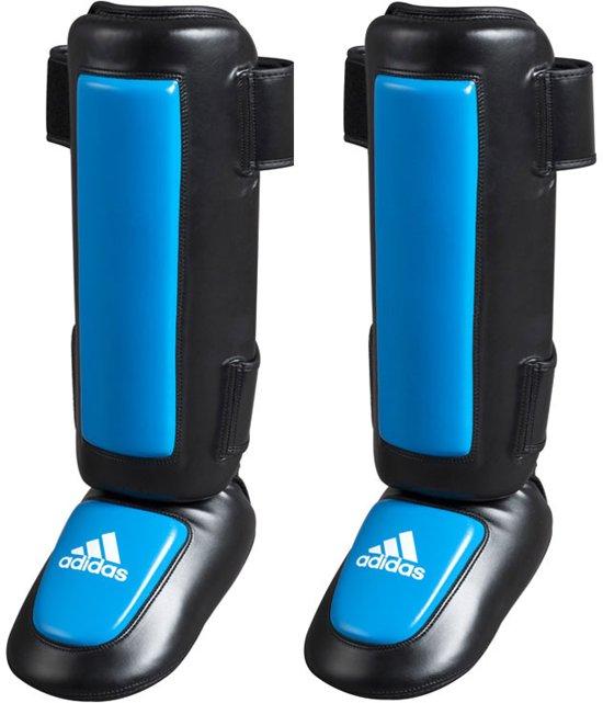 5c21584a72a bol.com | adidas Pro Style scheenbeschermers Zwart/Blauw Large