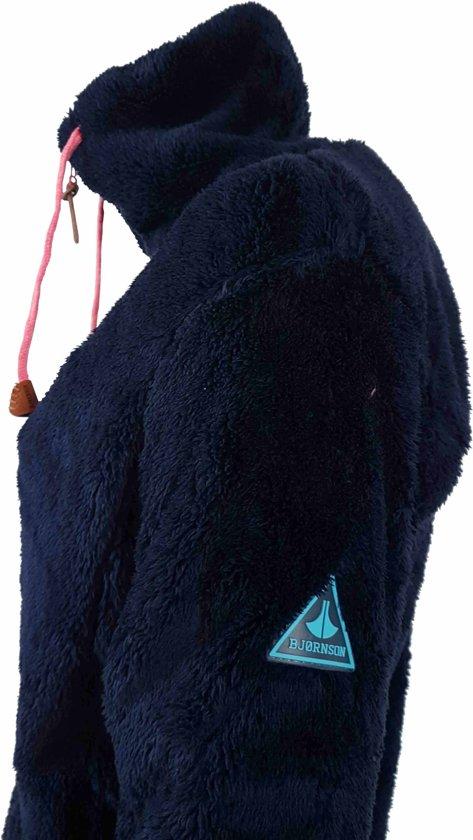 Fleece Vest Bjornson 56 Elin Maat Dames Coral Donkerblauw qRAxEA6
