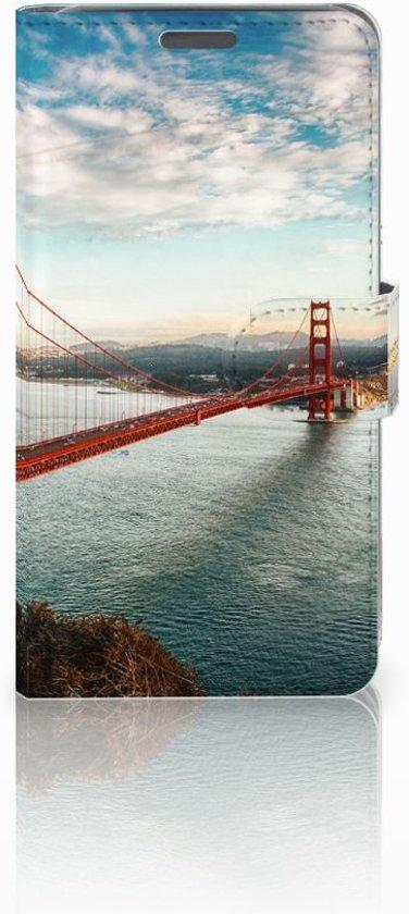 Wiko Lenny Boekhoesje Design Golden Gate Bridge