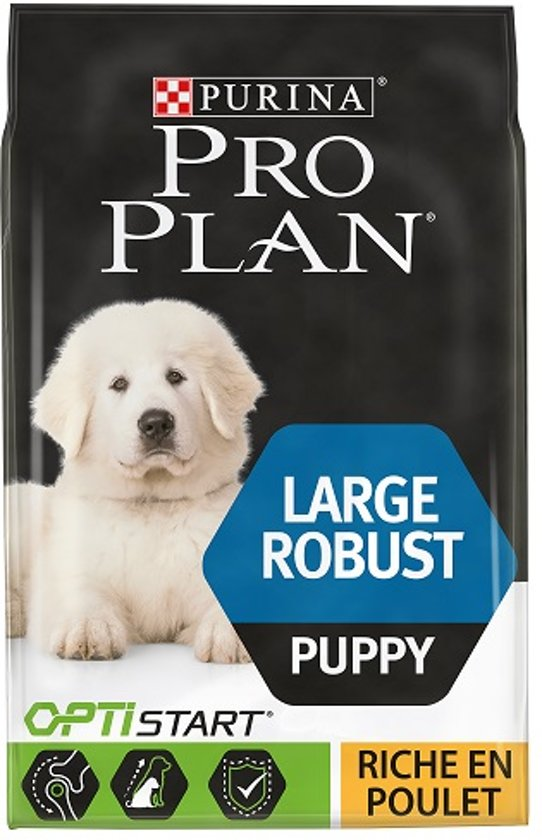 Pro Plan Puppy Large Robust - Kip met Optistart - Hondenvoer - 12 kg