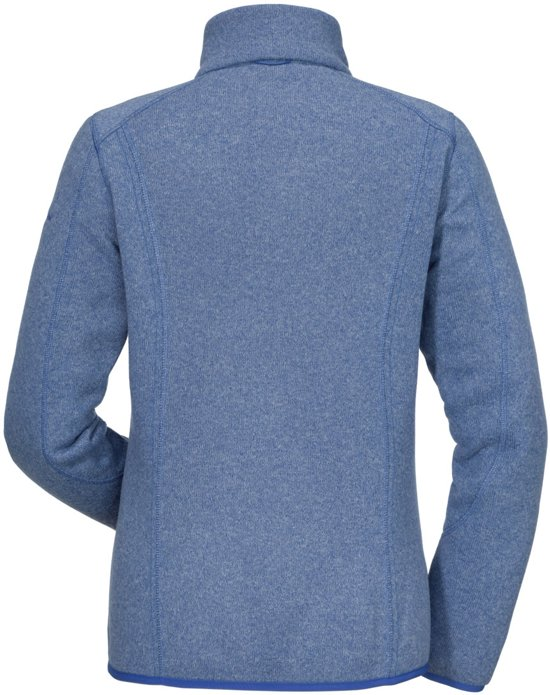 Fleecevest Valdez1 Zipin Blauw Dames Stretch Fleece wFZqZfp8