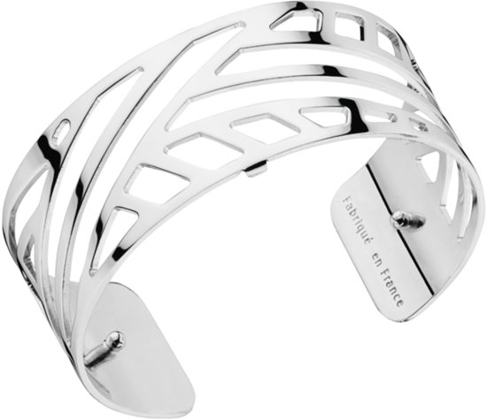 Les Georgettes armband Ruban 25mm Silver