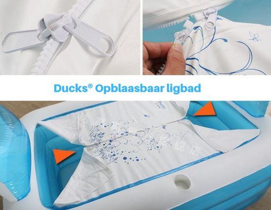 DUCKS® - Opblaasbaar ligbad voor thuis - opblaasbare badkuip - bad