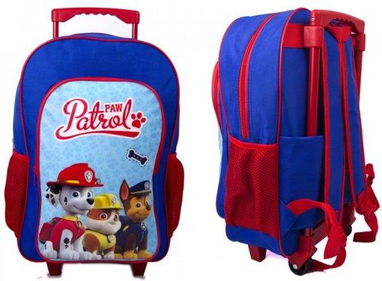 2188337aa87 PAW PATROL Rugzak Trolley Kinderkoffer Rugtas Logeren School Tripjes