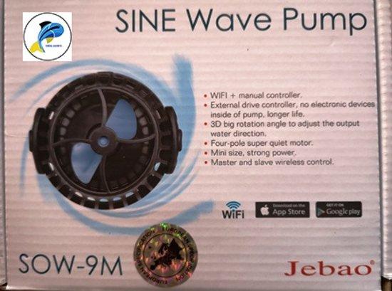 Circulatiepomp Aquarium Jecod SOW-9 M Wifi Controlled