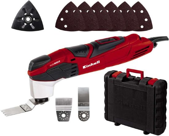 Einhell TE-MG 200 CE Multitool - 200 W - Oscillerend - Inclusief 8 accessoires - Inclusief koffer