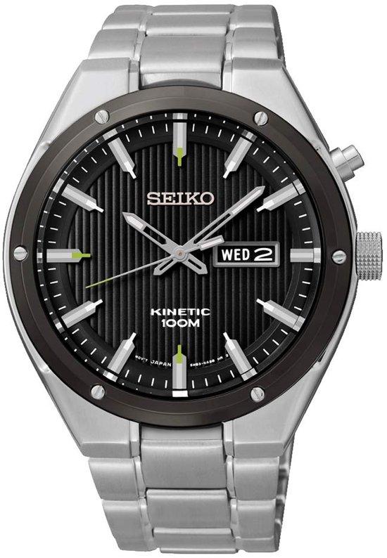Seiko SMY151P1 horloge heren - zilver - edelstaal