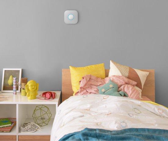 Google Nest Protect - Slimme rook- en koolmonoxidemelder - Met batterij