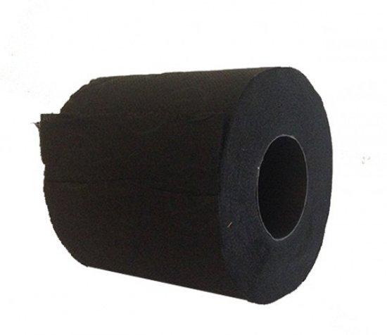 Wc Papier Zwart.Halloween 6x Zwart Toiletpapier Gekleurd Wc Papier