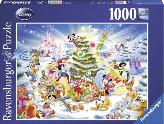 Ravensburger Disney Kerstmis met Disney - Puzzel van 1000 stukjes
