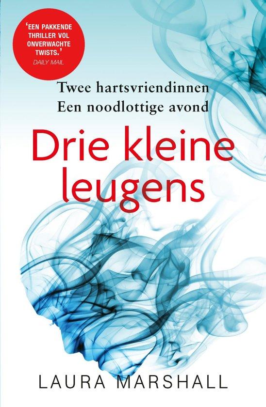 Boek cover Drie kleine leugens van Laura Marshall (Onbekend)