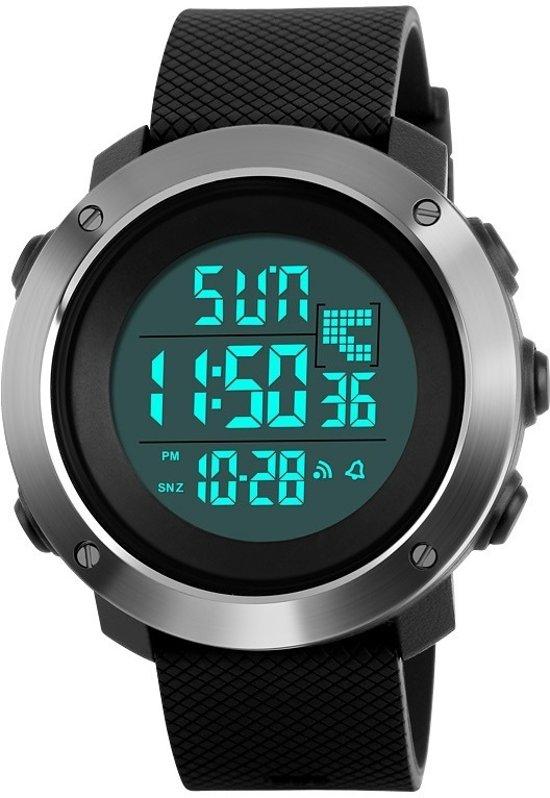 Sporthorloge – Dual Time – Countdown – Geschenkdoosje - Ø50mm