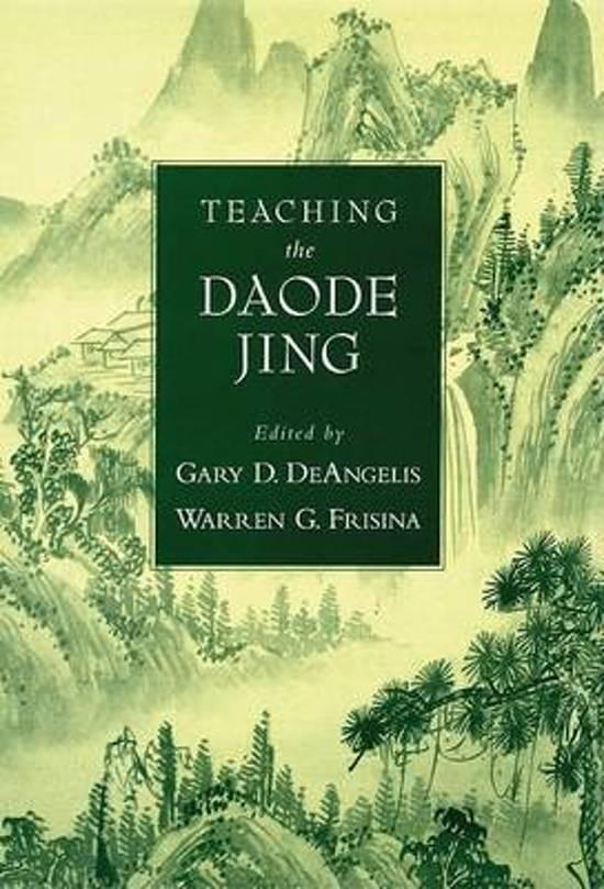 TEACHING DAODE JING AARTRS C