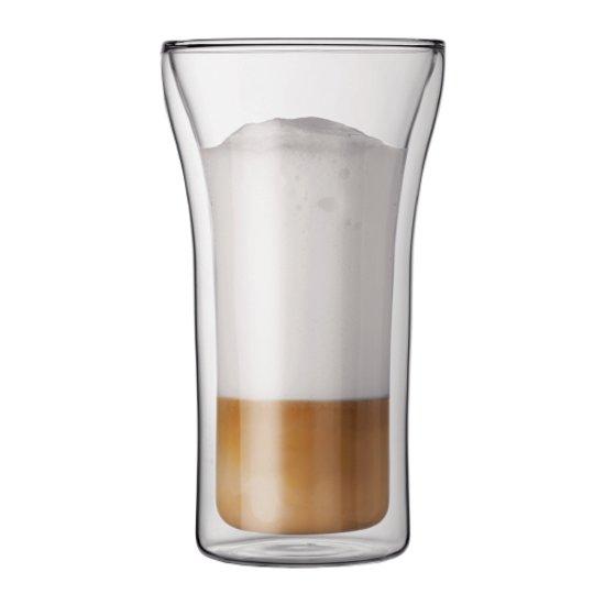 Bodum Assam Dubbelwandig Glas - Groot - 400 ml - 2 stuks