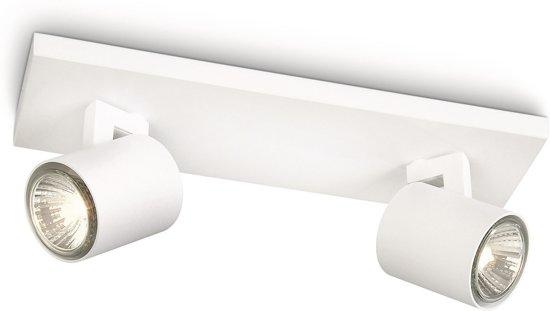 philips myliving runner plafondspots 2 lichts wit. Black Bedroom Furniture Sets. Home Design Ideas