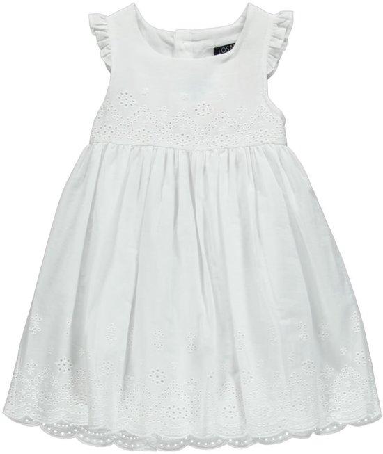 geweldige kwaliteit hete verkoop online op voet schoten van bol.com   Losan Meisjes Jurk Wit broderie - B40 - Maat 92