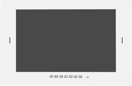 Waterdichte LED TV 19 inch, wit met DVB-S2 & DVB-C tuner in Augustinusga / Stynsgea