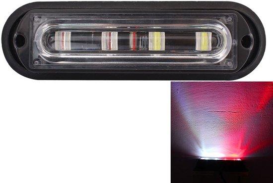Rood Licht Lamp : Bol w lm led wit rood licht flitspatronen auto