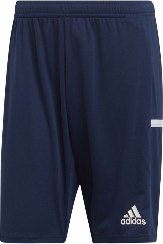 Adidas T19 Woven Short Shorts blauw donker S