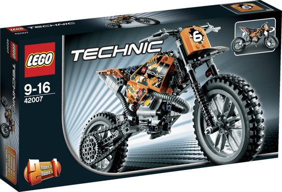 lego technic crossmotor 42007 lego. Black Bedroom Furniture Sets. Home Design Ideas