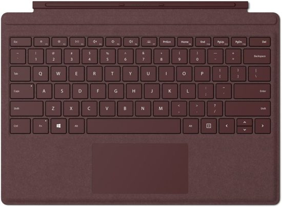 Microsoft Surface Type Cover Pro - Rood
