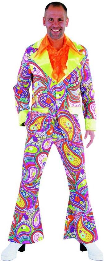 e0ec590ba28 bol.com | Funky Colours Hippie pak - Flower Power kostuum maat XL ...