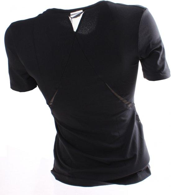 Maat T Papillon L shirt Zwart Dames YwvxO