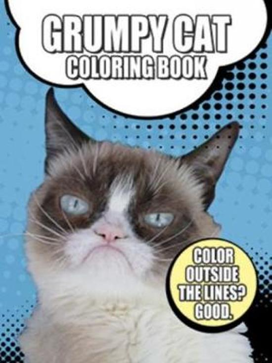 Image of: Meme Cnbccom Bolcom Grumpy Cat Coloring Book Grumpy Cat 9780486791630 Boeken
