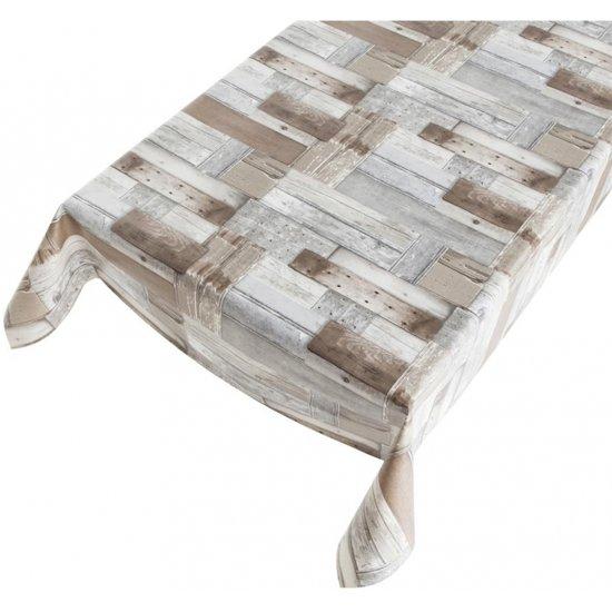 Super bol.com | Tafelzeil - Houten planken - 140 x 240 cm KC45